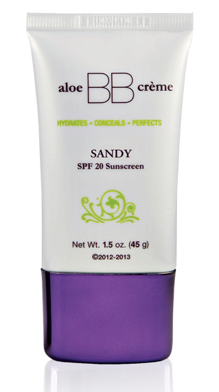 Aloe BB Creme Sandy
